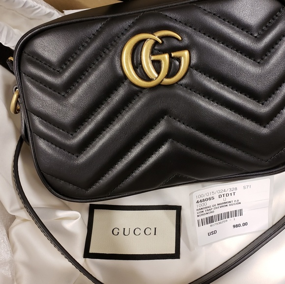 6514e8c0eac9ef Gucci Bags | Gg Marmont Mini Camera Bag Black | Poshmark